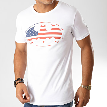 DC Comics - Tee Shirt USA Blanc