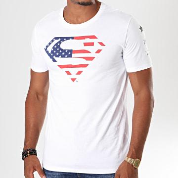 DC Comics - Tee Shirt USA Blanc