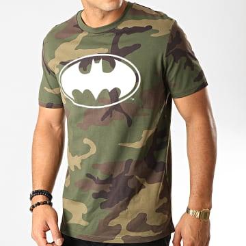 DC Comics - Tee Shirt Logo Camo