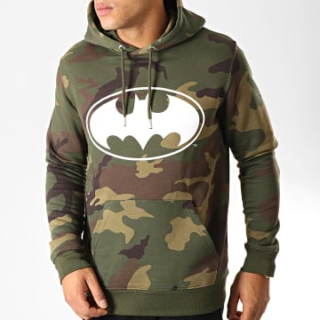 Sweat Capuche Logo Camo