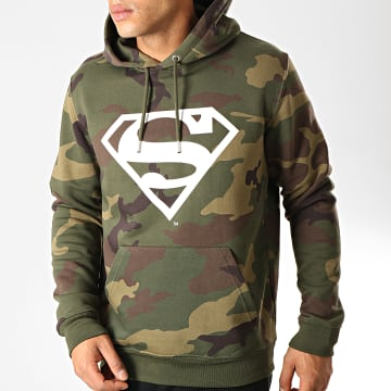 DC Comics - Sweat Capuche Logo Camo