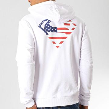 DC Comics - Sweat Capuche USA Back Blanc