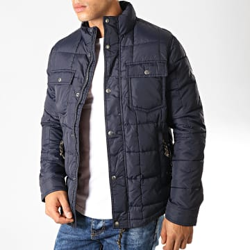 Jack And Jones - Doudoune Lambert Bleu Marine