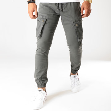 LBO - Jogger Pant Skinny Jumbo Gris Anthracite