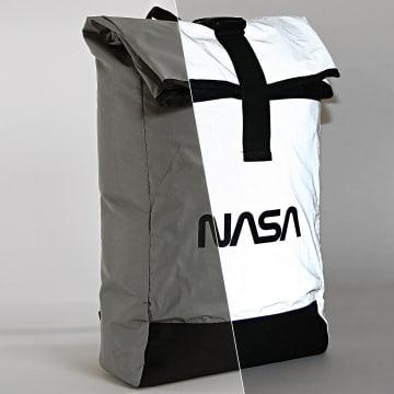 NASA - Sac A Dos Worm Logo Reflective Gris