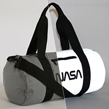 NASA - Sac De Sport Worm Logo Reflective Gris