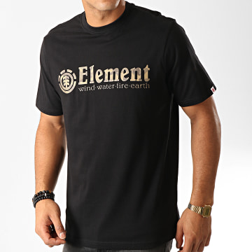 Element - Tee Shirt Camouflage Scope Noir Marron