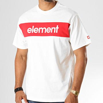 Element - Tee Shirt Primo Flag Blanc