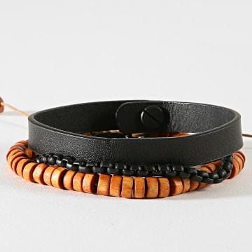 Bracelet B1239 Marron Noir