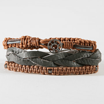 Icon Brand - Bracelet LE1277 Marron