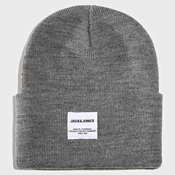 Bonnet Long Knit Gris Chiné