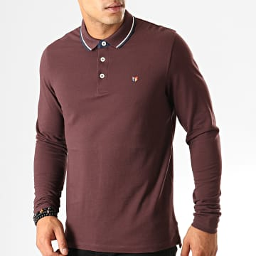 Polo Manches Longues Paulos Play Blu Bordeaux