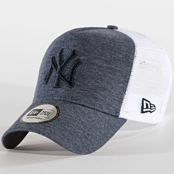 Casquette Trucker Jersey Essential New York Yankees 12040184 Bleu Marine Chiné Blanc