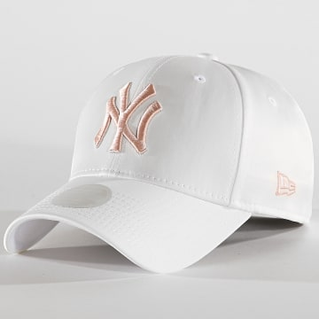 Casquette Femme 9Forty Satin 12040385 New York Yankees Blanc
