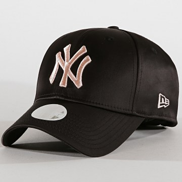Casquette Femme 9Forty Satin 12040386 New York Yankees Noir