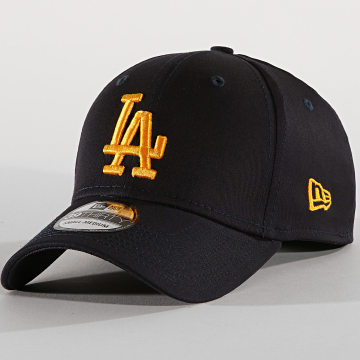 New Era - Casquette Fitted 39Thirty League Essential 12040454 Los Angeles Dodgers Bleu Marine