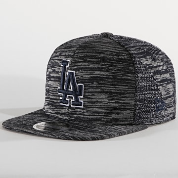 Casquette Fitted 9Fifty Engineered Fit 12040530 Los Angeles Dodgers Bleu Marine Chiné