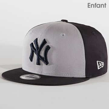 Casquette Snapback Enfant 9Fifty Character Front 10240587 New York Yankees Bleu Marine Gris