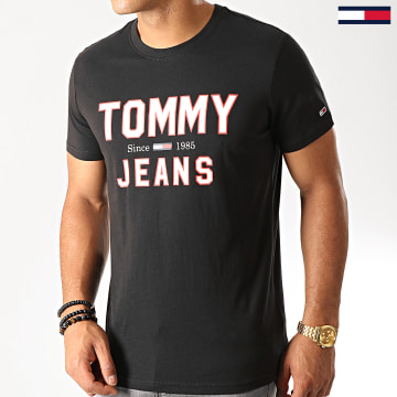 Tommy Jeans - Tee Shirt Essential 1985 Logo 7067 Noir