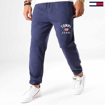 Pantalon Jogging Washed Logo 6971 Bleu Marine