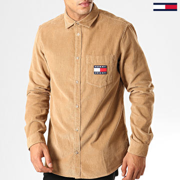 Tommy Jeans - Chemise Manches Longues 7131 Camel