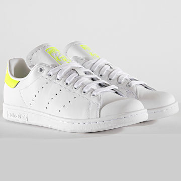 Adidas Originals - Baskets Stan Smith EE5820 Footwear White Solar Yellow