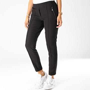 Pantalon Femme A Bandes Jessica Noir