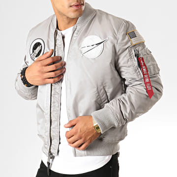 Alpha Industries - Bomber MA-1 VF Nasa Gris