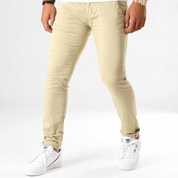 Deeluxe - Pantalon Chino Lawson Beige