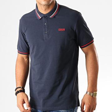 HUGO by Hugo Boss - Polo Manches Courtes Daruso 194 50414224 Bleu Marine
