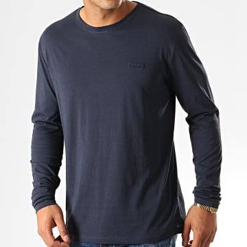 HUGO - Tee Shirt Manches Longues Derol 194 50414223 Bleu Marine