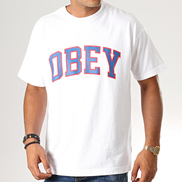 Obey - Tee Shirt Academic Blanc