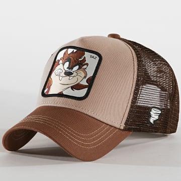 Capslab - Casquette Trucker Taz Marron