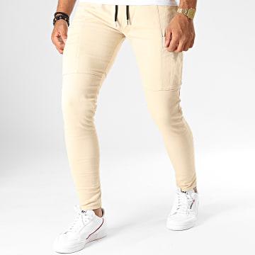 Pantalon Slim PS-3 Beige