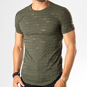 Tee Shirt Oversize 449 Vert Kaki
