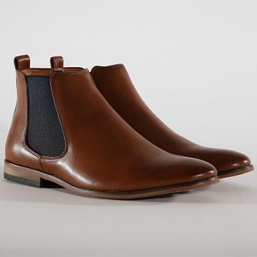 Chelsea Boots GH3072 Marron Clair