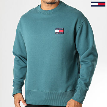 Sweat Crewneck Badge 6592 Vert