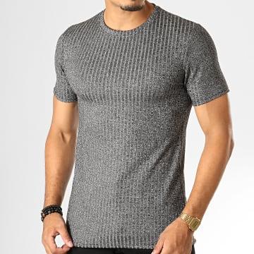 Tee Shirt UP-T651 Gris Chiné