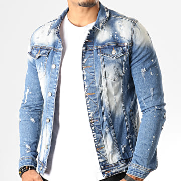 Veste En Jean 114 Bleu Wash