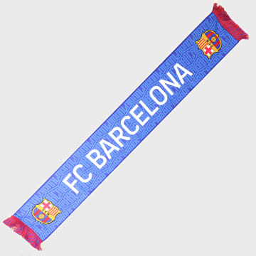 FC Barcelona - Echarpe All Over Bleu Roi
