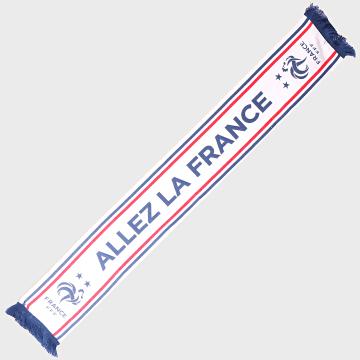 Echarpe Allez La France Blanc Bleu Marine