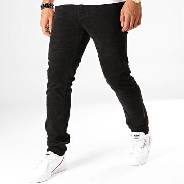 MTX - Pantalon Slim Velours YH1005 Noir