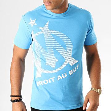 Tee Shirt Big Logo M19002C Bleu Clair