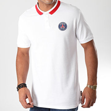 Polo Manches Courtes Paris Saint-Germain P13052C Blanc