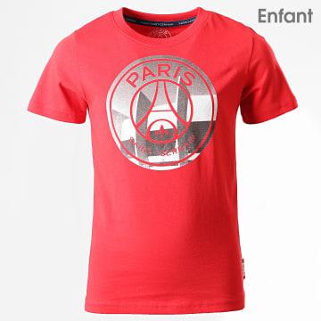 Tee Shirt Enfant PSG Big Logo P13098C Rouge