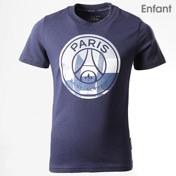 Tee Shirt Enfant PSG Big Logo P13098C Bleu Marine