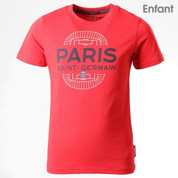 Tee Shirt Enfant PSG Parc Des Princes P13096C Rouge