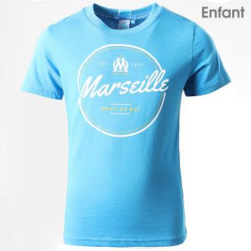 Tee Shirt Enfant OM Fan M19030C Bleu Clair