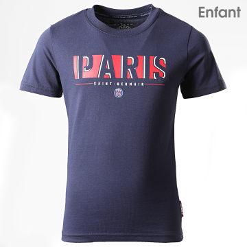 Tee Shirt Enfant PSG P13097C Bleu Marine