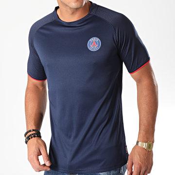 PSG - Tee Shirt P13050C Bleu Marine Rouge